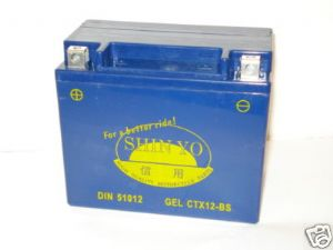 Sealed For Life GEL CTX-12BS Battery for Triumph [Made in Japan/12 Month Warranty]